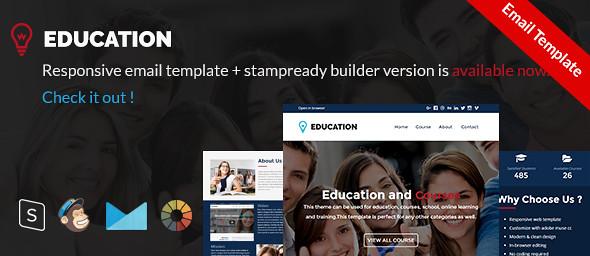Education - Responsive Education, Courses Template - 13