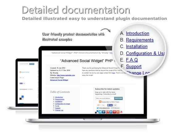 Detailed illustrated easy to understand script documentation