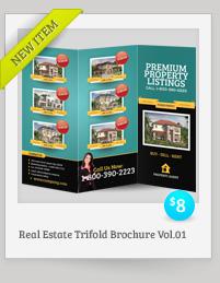 Rebellion Trifold Brochure - PSD Template - 12