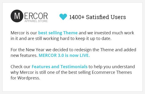 Mercor - Responsive WooCommerce Theme - 1