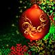 noveart - Christmas Background Frame