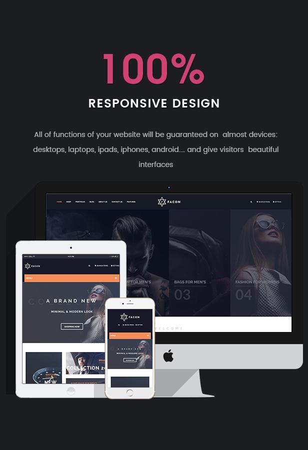 Facon - Fashion Responsive WordPress Theme 22