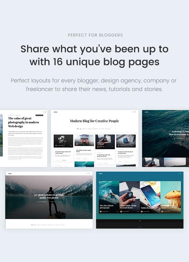 Restless multipurpose HTML Blog Template