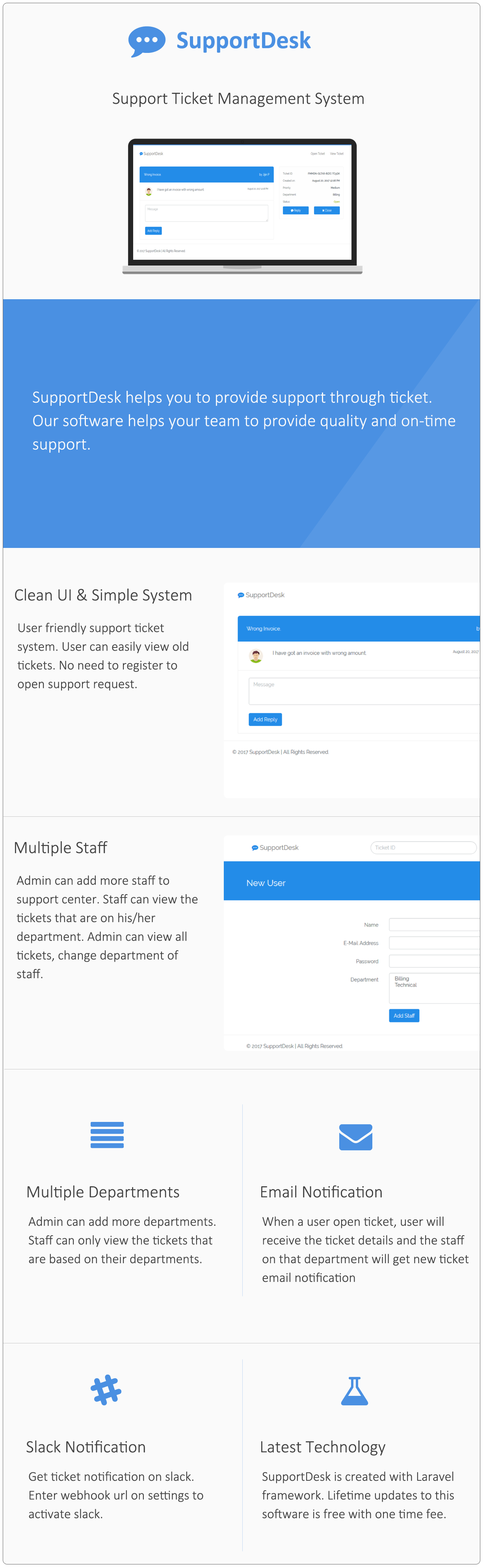 SupportDesk - Support Ticket Management System - 8