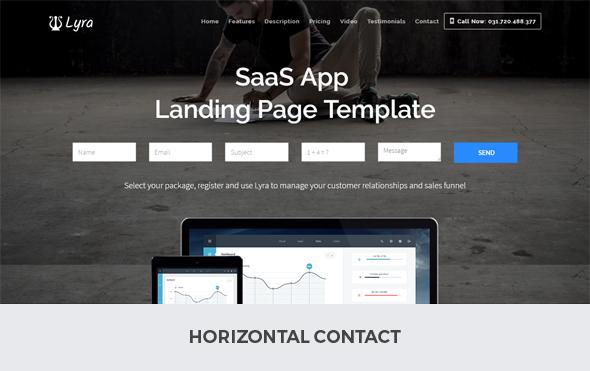 horizontal contact