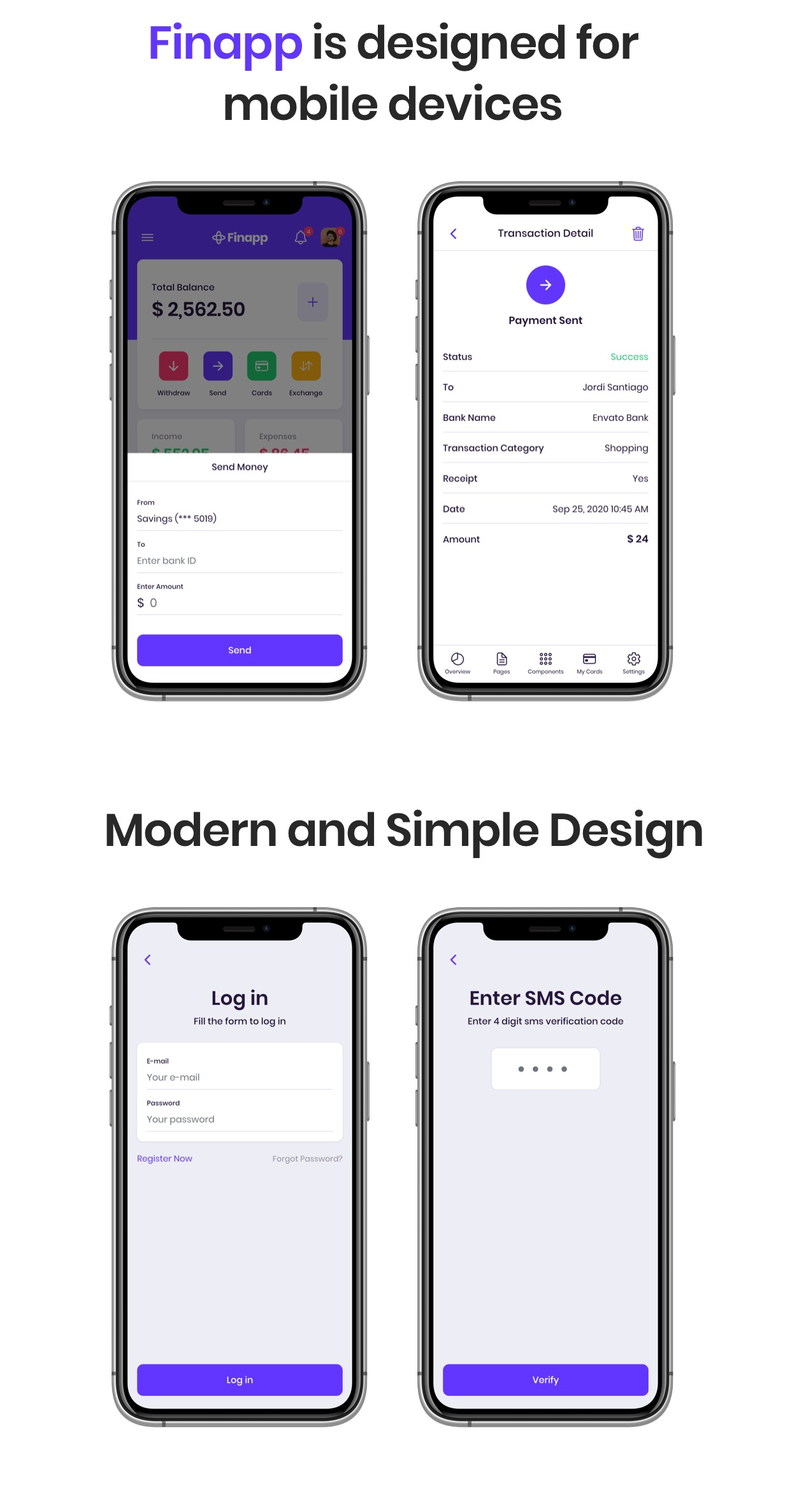 banking template