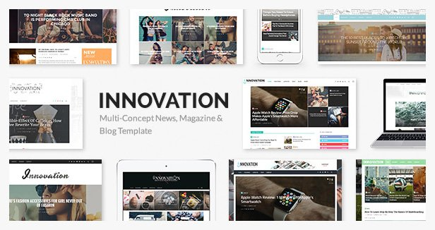 INNOVATION WordPress template