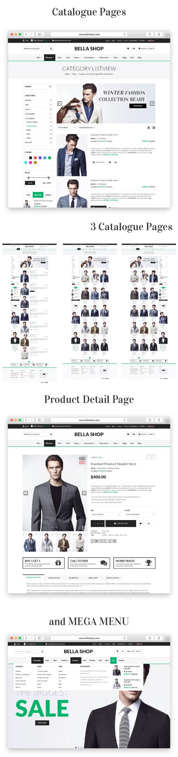 Bella - eCommerce Shop WordPress Theme - 13
