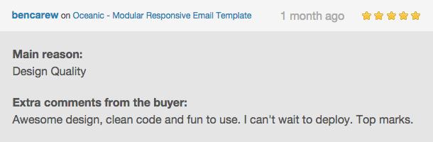Oceanic - Modular Responsive Email Template - 8