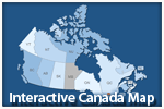 Interactive Canada Map