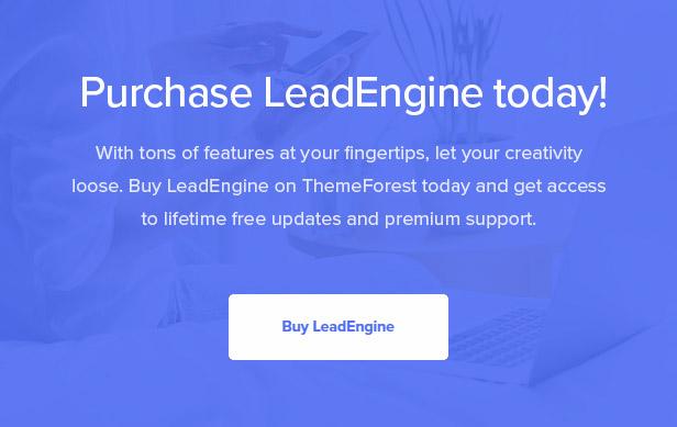 "LeadEngine v2.6-""页面构建器""为空的多功能主题插图36"