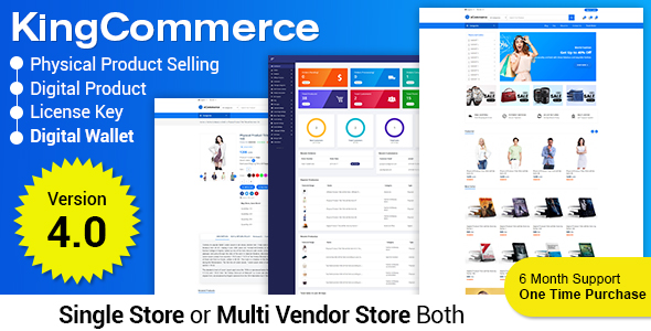GeniusCart - Single or Multivendor Ecommerce System with Physical and Digital Product Marketplace - 6