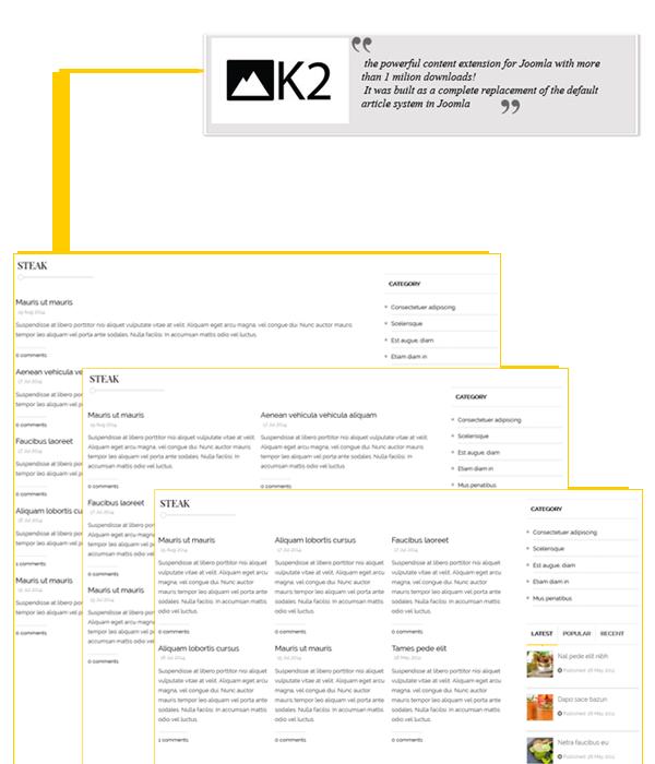 Zaga - K2 component