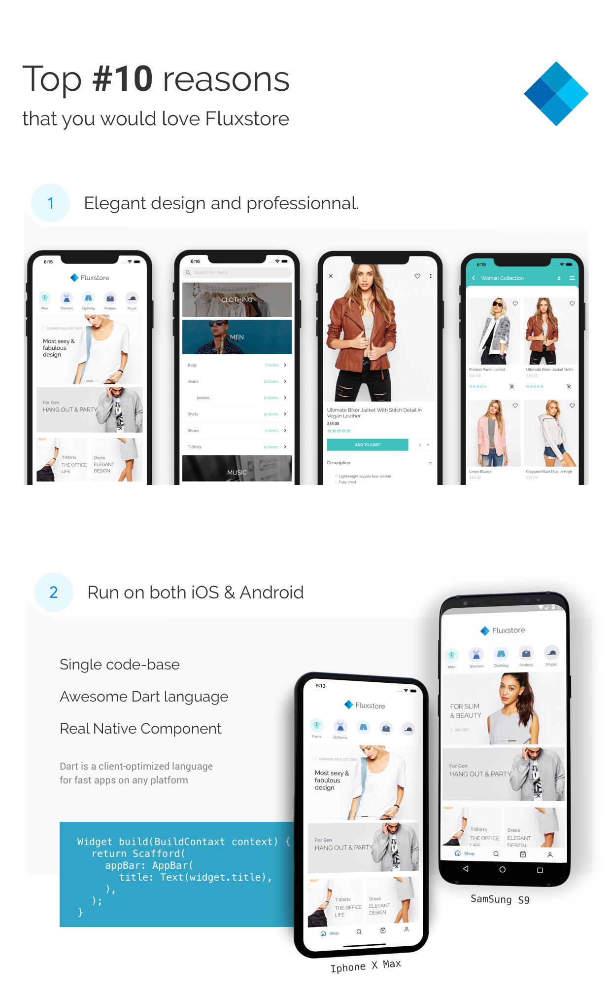 Fluxstore Pro - Flutter E-commerce Full App for Magento, Opencart, and Woocommerce - 5