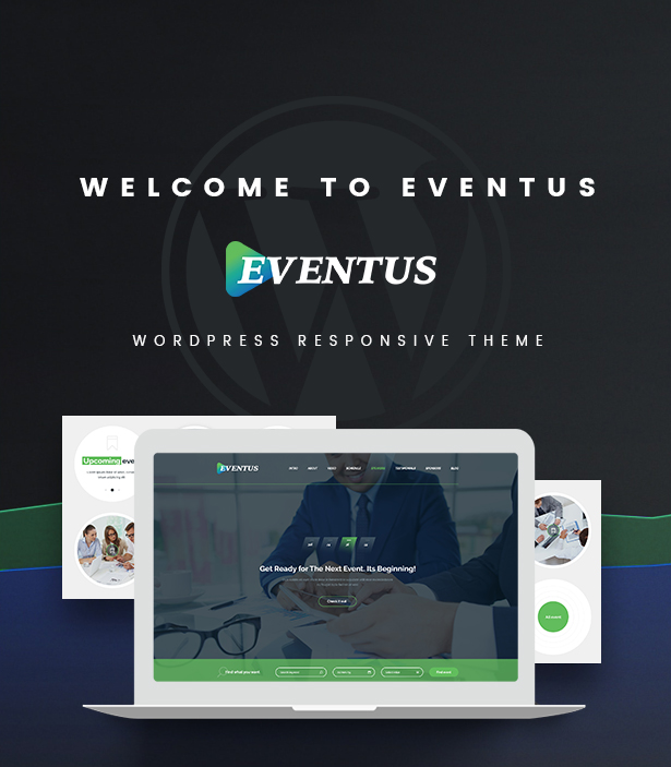 Eventus - Event and Conference WordPress Theme