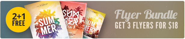 Summer Flyer Bundle Vol.16