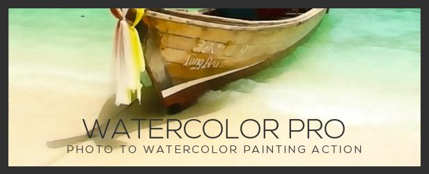 Watercolor Pro | Photoshop Action