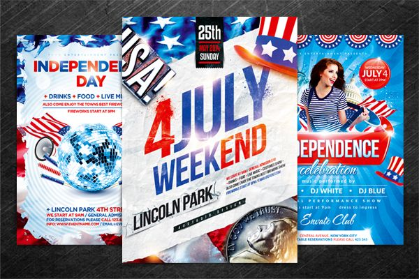 Independence Day Party Flyer By Ustudio  Graphicriver