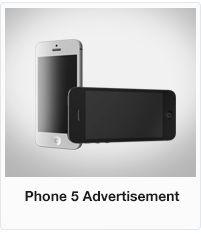 Animill - Phone 5 Advertisement