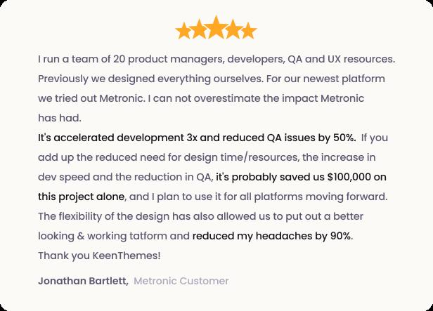 Metronic - Bootstrap 4 HTML, React, Angular 9, VueJS & Laravel Admin Dashboard Theme - 5