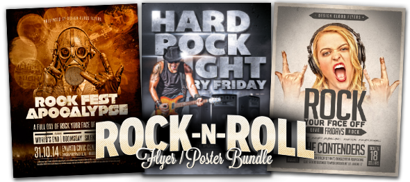 Design Cloud: Rock n Roll Bundle