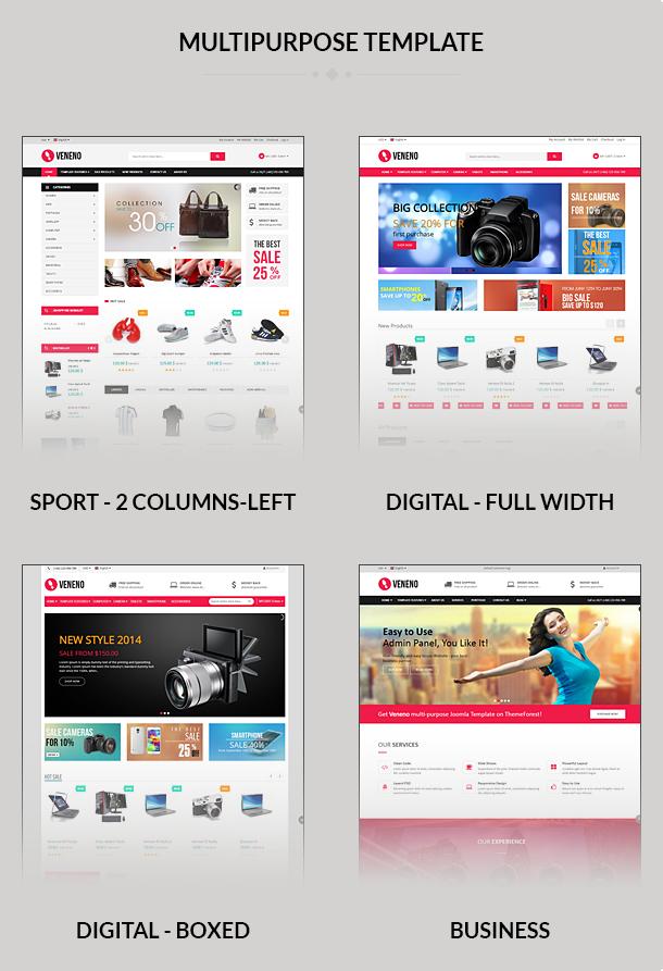 joomla ecommerce templates