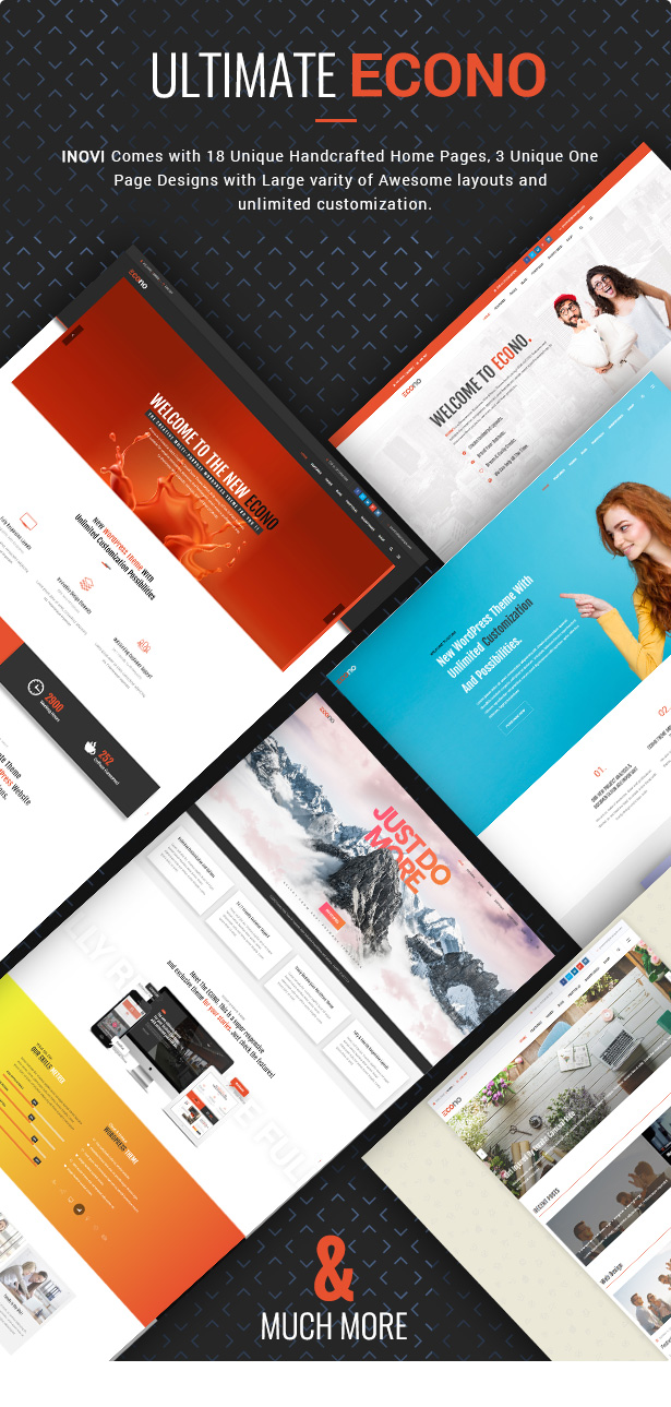 Econo - Creative MultiPurpose WordPress Theme