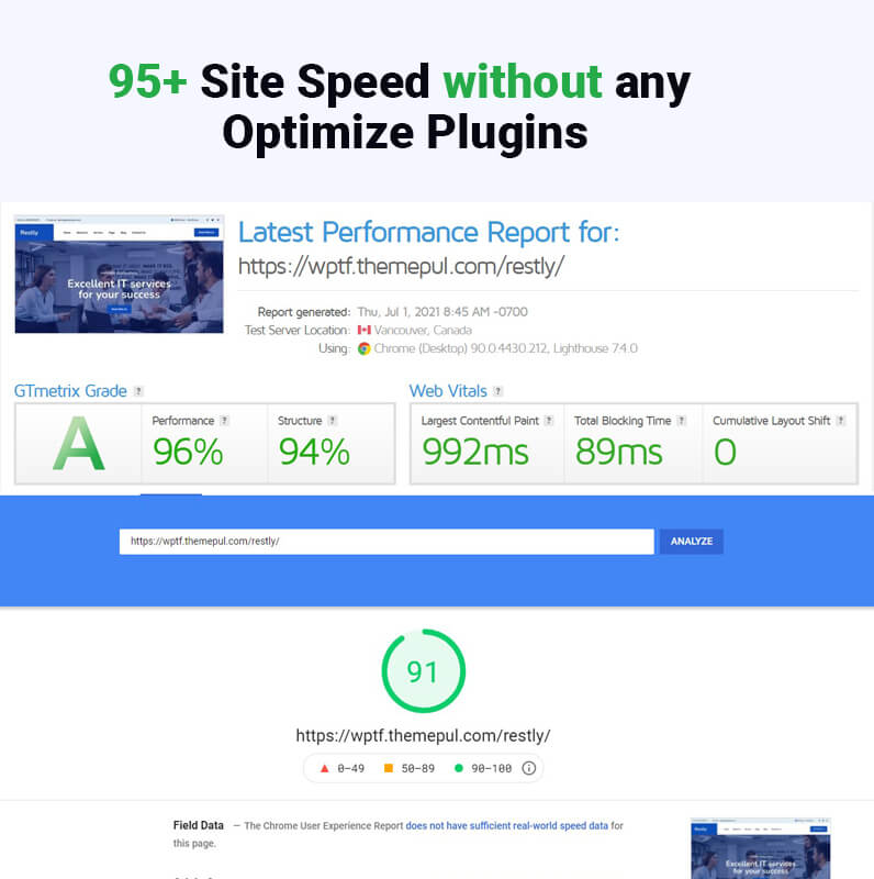 Restly - IT Solutions & Technology WordPress Theme
