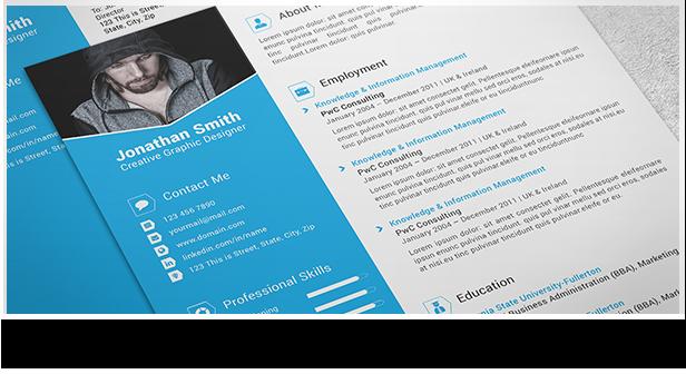 Clean and Minimal Resume Set - 3