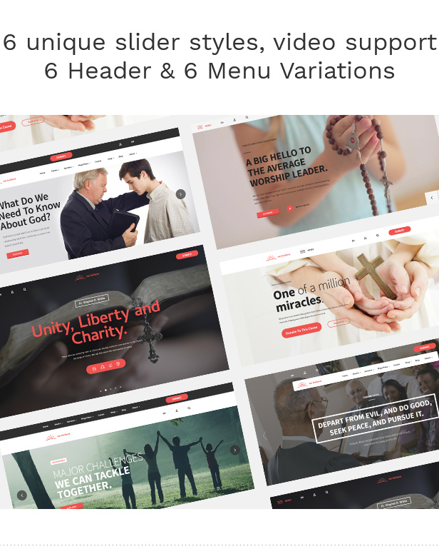 WeBelieve - Church, Charity, Nonprofit & Fundraising Responsive HTML5 Template - 8