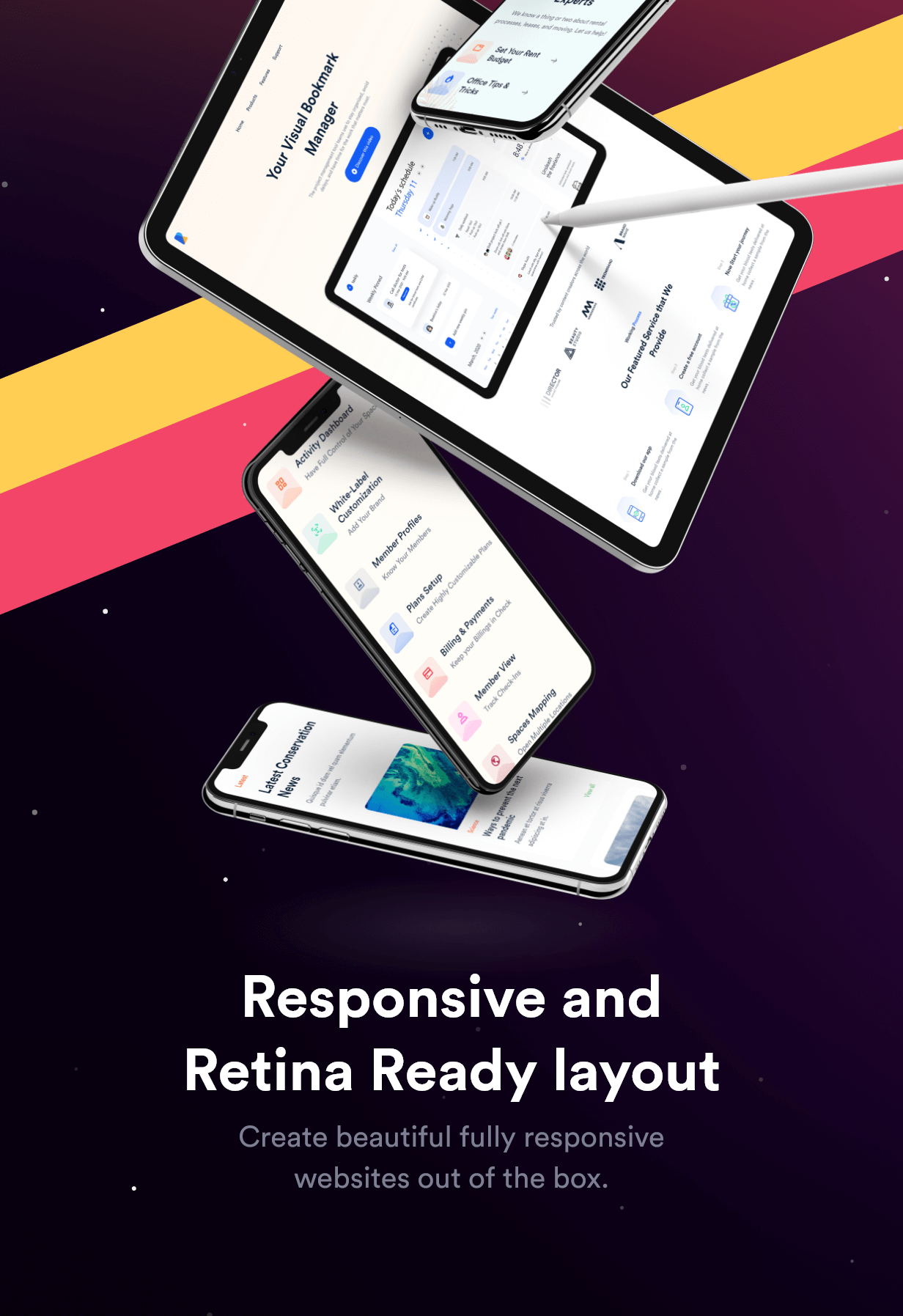 Rakon - Creative Multi-Purpose Landing Page HTML5 Template (RTL Supported) - 16