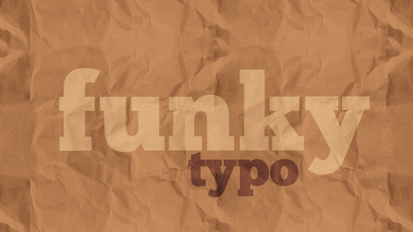 Funky Typo | Premium Kinetic Typography