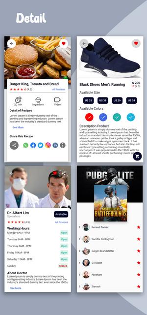 Material Design - Flutter Ui Kit Android - 14
