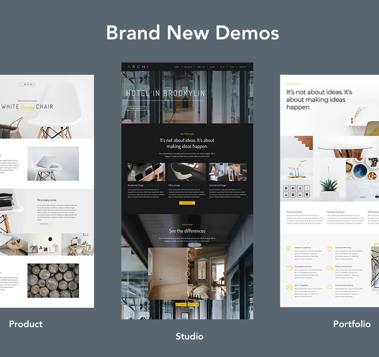 Archi - Interior Design WordPress Theme - 5