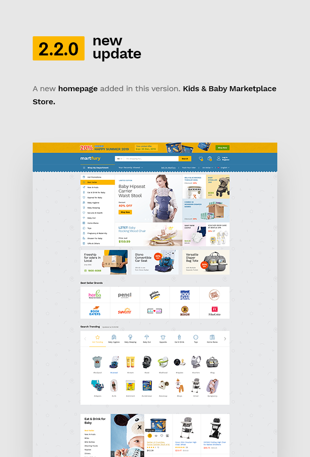 Martfury - WooCommerce Marketplace WordPress Theme - 6