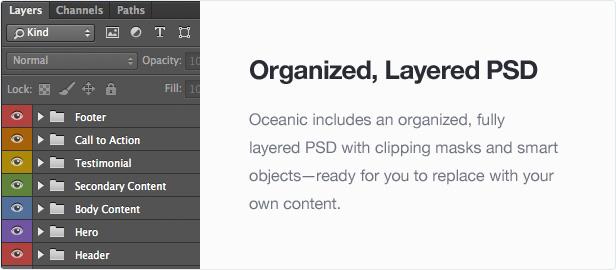 Oceanic - Modular Responsive Email Template - 4