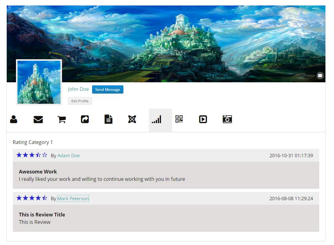 User Profiles Made Easy - WordPress Plugin - 230