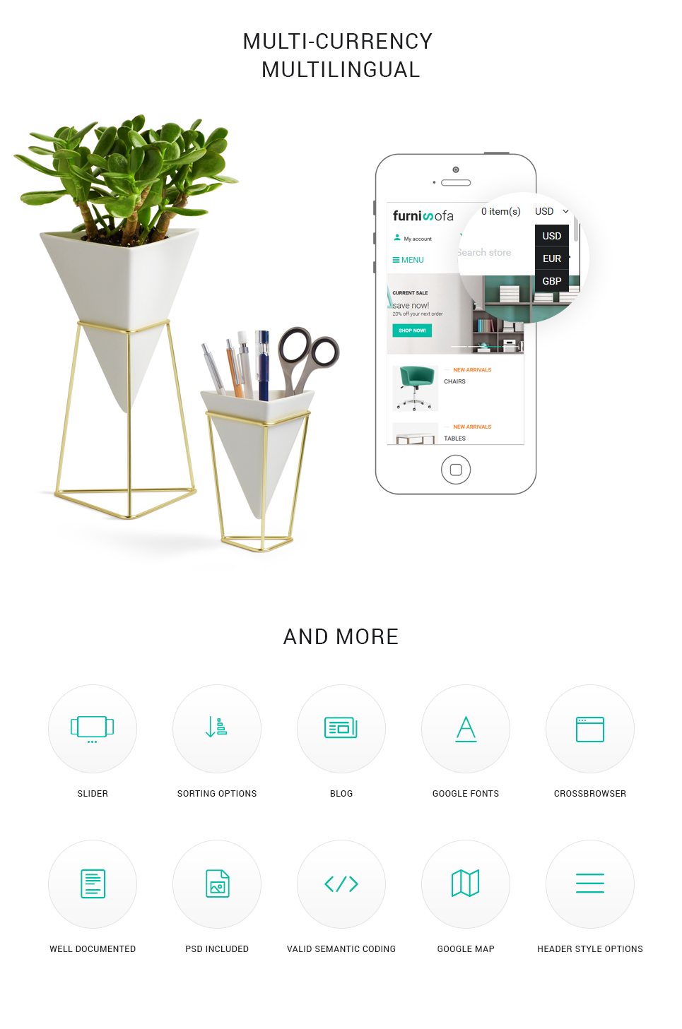 Furnisofa - Responsive Shopify Theme With Sections - 4