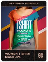 Women T-Shirt Mockups - 5