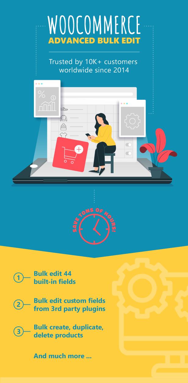 WooCommerce Advanced Bulk Edit, Trusted by 10K+ customers