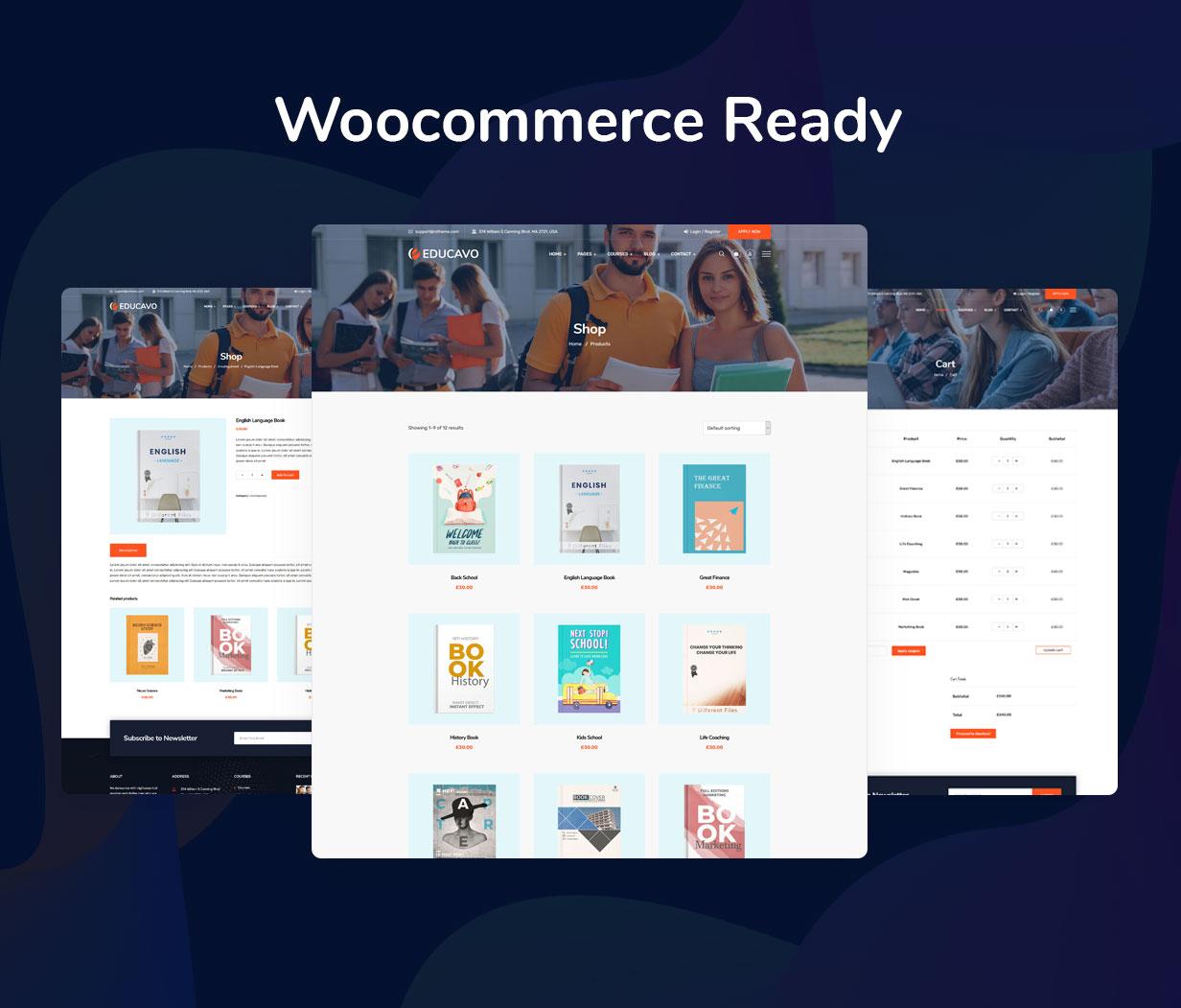 Educavo WordPress Theme