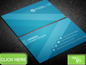 Colorful Art Business Card - 12