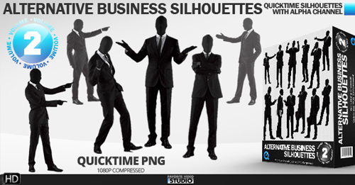 Alternative Business Silhouettes (Vol. 2)