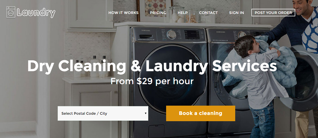 Laundry Service PHP script - 2