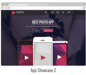app landing wordpress theme
