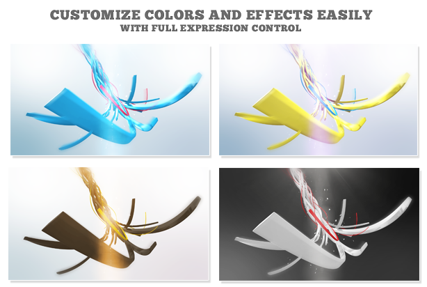 Ribbon Logo Reveal - 3