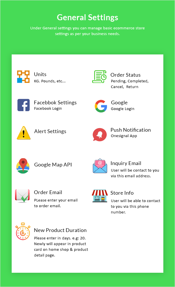 Android Ecommerce - Universal Android Ecommerce / Store Full Mobile App with Laravel CMS - 31