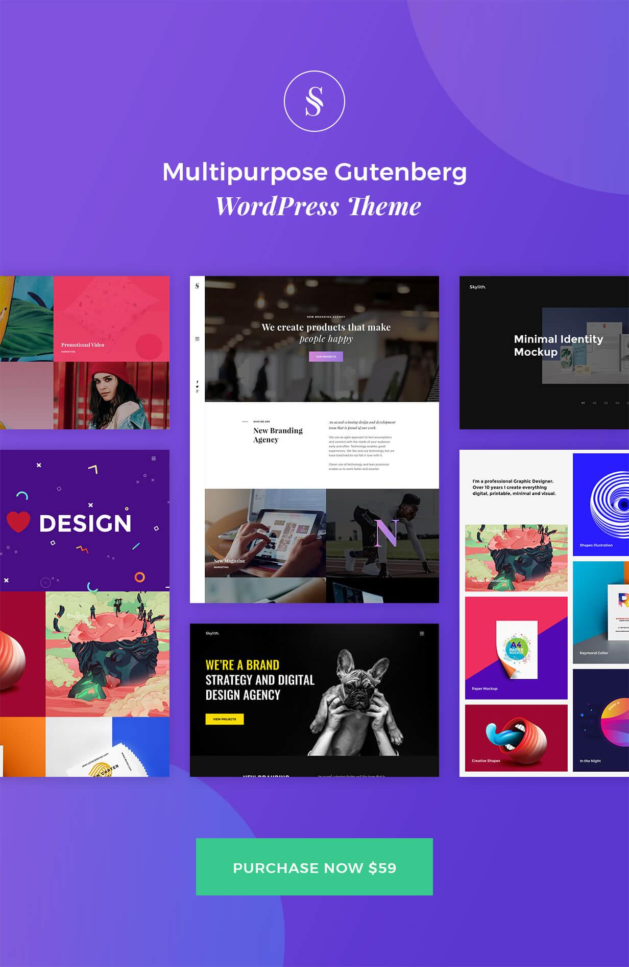 Skylith | Multipurpose Gutenberg WordPress Theme by _nK | ThemeForest