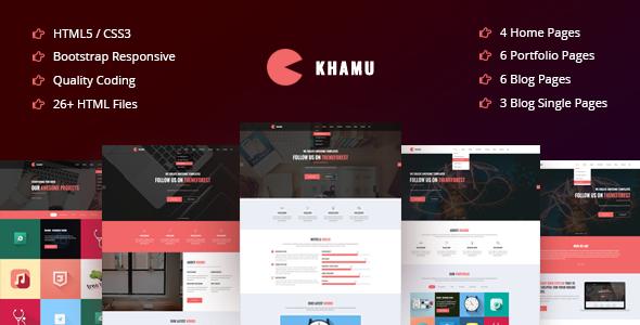 Khela   Business, Portfolio, App Landing Page Template - 11