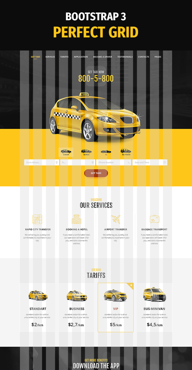TaxiPark - Taxi Cab Service Company WordPress Theme - 5